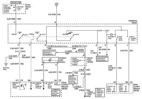 chevy trailblazer headlight wiring diagram get free
