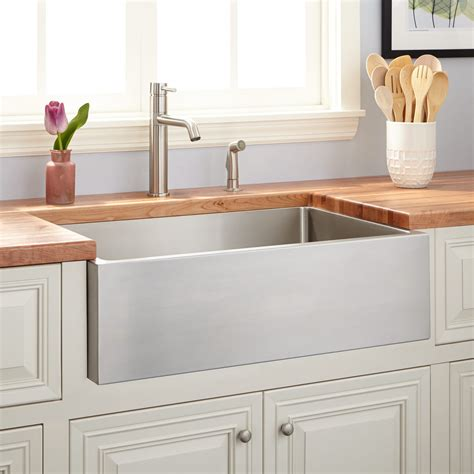 Farm Sinks Kitchen by 27 Quot Atwood Stainless Steel Farmhouse Sink Kitchen