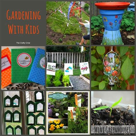 School Gardening Club Ideas Ideas For Gardening With Things To Make And Do Crafts And Activities For The