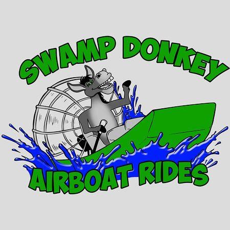airboat cartoon sw donkey airboat rides picture of sw donkey