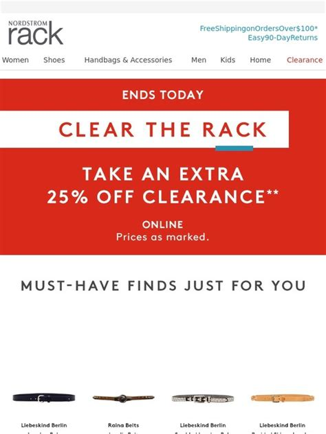 Nordstrom Rack Shoe Return Policy by Nordstrom Rack Only Last Day For 25