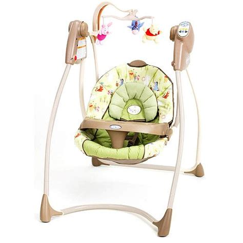 graco winnie the pooh swing 25 best ideas about baby swings on outdoor
