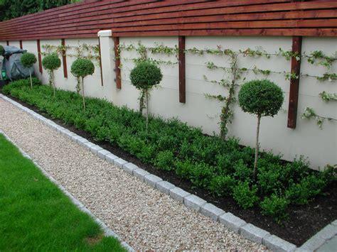garden wall fencing garden fencing design dublin landscaping ie