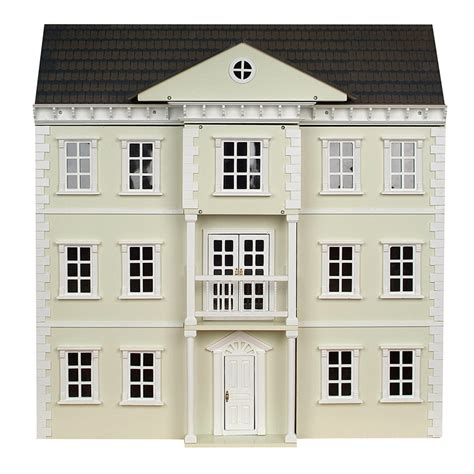 Dh032p Mayfair Dolls House Painted Cream Minimum World