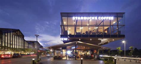 starbucks food villa  bangkok  architect