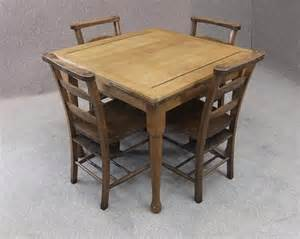 Extending Kitchen Tables And Chairs Late Extending Pine Table And 4 Chapel Chairs