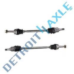 both 2 rear cv joint axle drive shafts jeep patriot