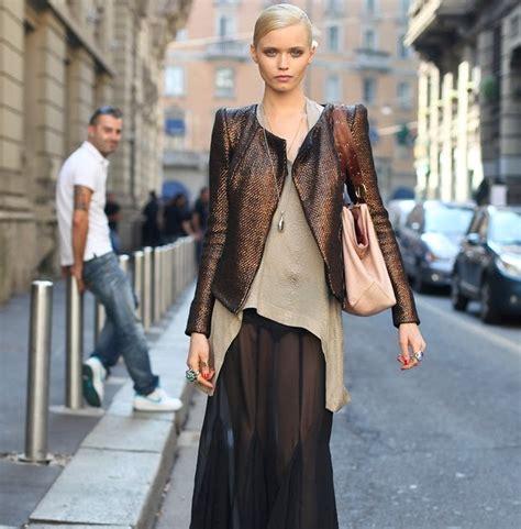 K Fashion Enthusiast afashion enthusiast on trend the sheer maxi skirt
