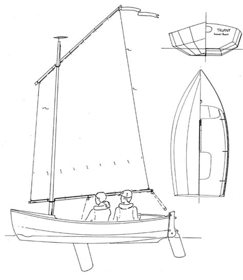 how to draw a jon boat truant john welsford designs