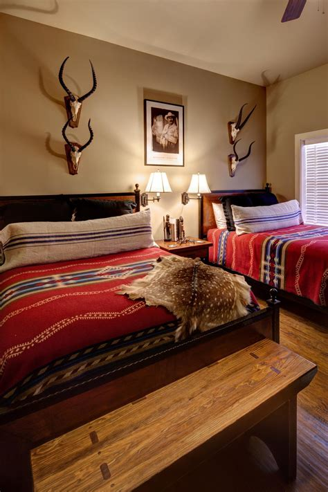 lodge bedroom decor southwestern bedroom photos hgtv