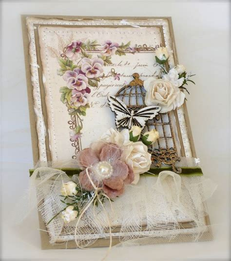 677 best images about tarjetas shabby chic scrapbook shabby chic cards scrapbook on pinterest