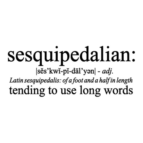 theme long definition sesquipedalian definition wall quotes decal wallquotes com