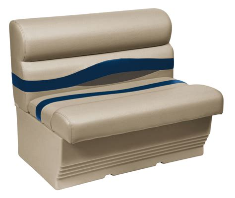 wise bench seat wise premier 45 quot pontoon bench seats iboats com