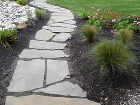 flagstone pathway sublime garden design landscape