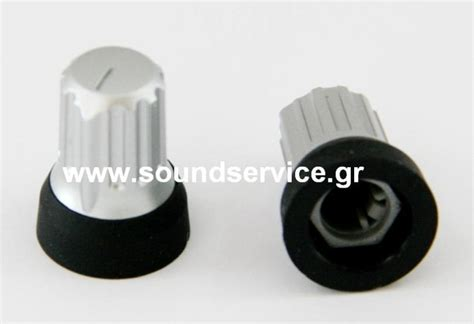 Rotary Replacement Knob by Vestax Replacement Rotary Knob Silver Black Knobs Caps