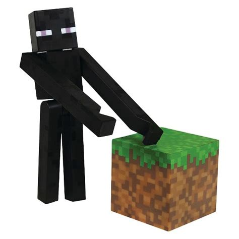 Minecraft Papercraft Target - minecraft enderman with accessory target