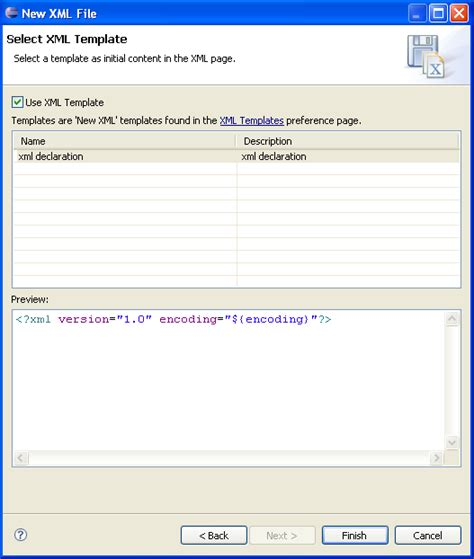 xml templates for website creating xml files tutorial