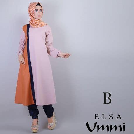 Celana Zaira elsa b baju muslim gamis modern