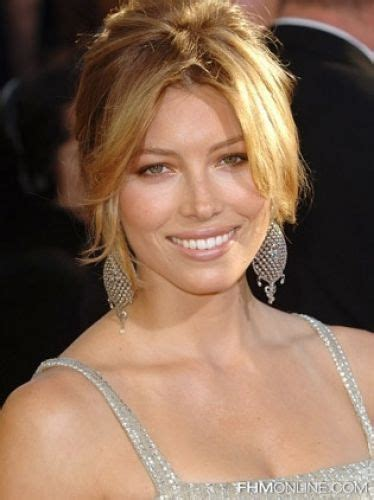 how to center part bangs 12 jessica biel hairstyles with bangs long medium bob