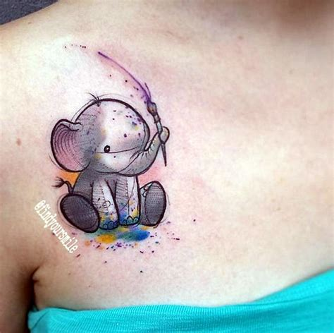 watercolor tattoo elephant 40 lovely and elephant design bored