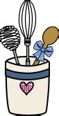 Cooking, Baking & Kitchen Supplies Clipart