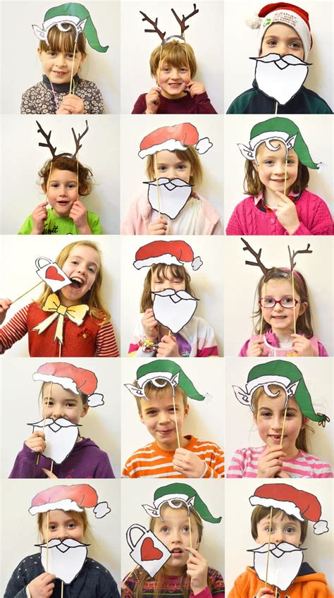 1000 ideas about christmas photo booth on pinterest