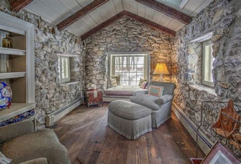 Red Livingroom tour a 1730 historic stone cottage that s storybook perfect