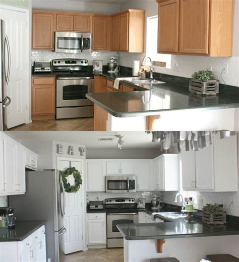Based Paint For Kitchen Cabinets by Kitchen In Snow White Milk Paint General Finishes Design