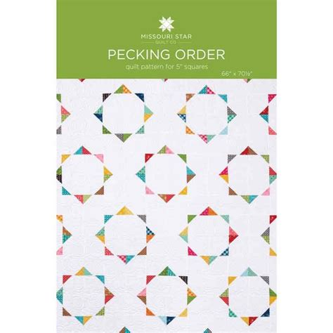 Packing Orderan pecking order quilt pattern by msqc missouri quilt co wholesale