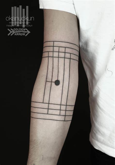 geometric tattoo vienna striking geometric blackwork tattoos by okan u 231 kun tattoodo