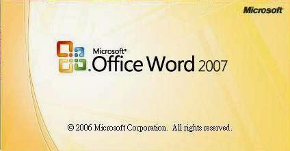 Bermain Kata Dan Gambar Pakai Ms Word 2007 1 office 2007 gratis apa adanya