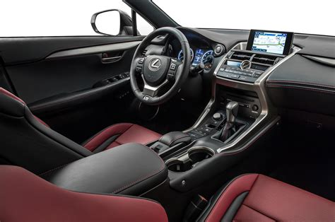 lexus nx 200t interior 2015 lexus nx 200t f sport interior photo 8