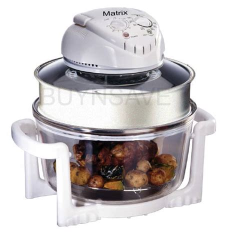 Kitchen Living Turbo Convection Oven by Matrix 1400w 17 Liters Turbo Flavour Cooker And Convection
