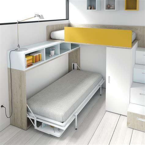 cama litera plegable litera con cama y zona de estudio abatible http www