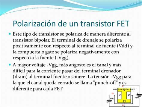 un transistor fet fet transistores de efecto de co