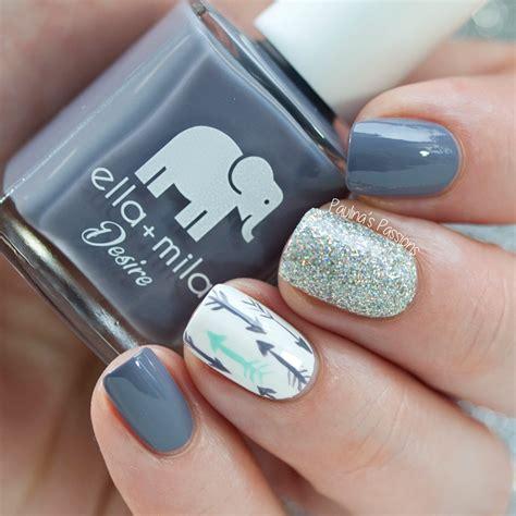 Middle Finger Nail Design