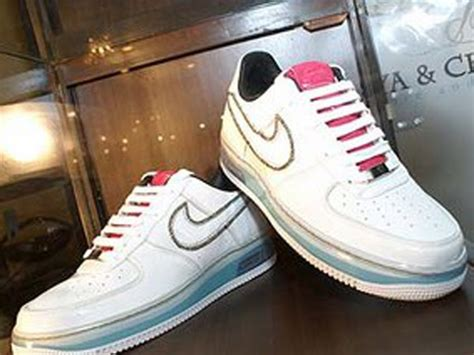 Big Sale Sepatu Wanita Sneakers Nike Airforce One Import the top ten most expensive shoes sold fashionista fever