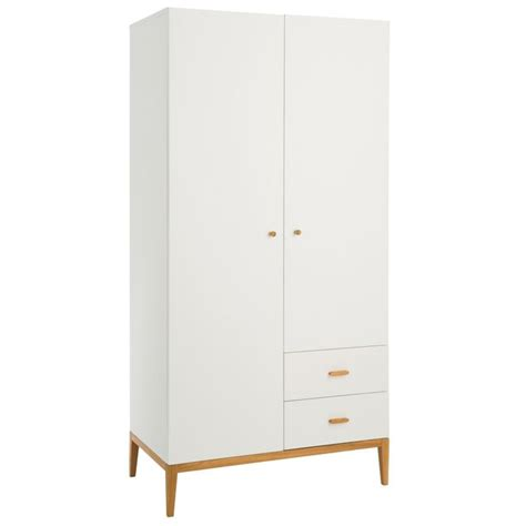 Habitat Radius Wardrobe by Buy Habitat Tatsuma 2 Door 2 Drawer Wardrobe White At