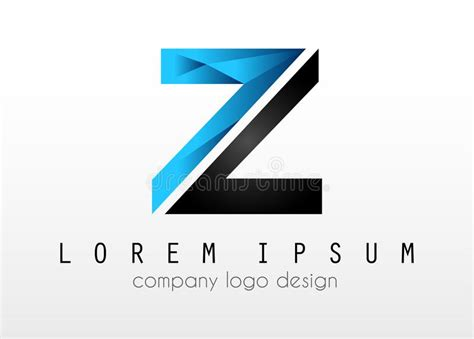 elegant company profile design creative logo letter z design for brand identity company