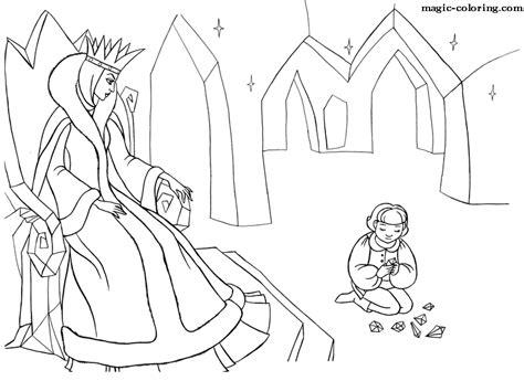 coloring pages snow queen nutcracker snow queen coloring page coloring pages