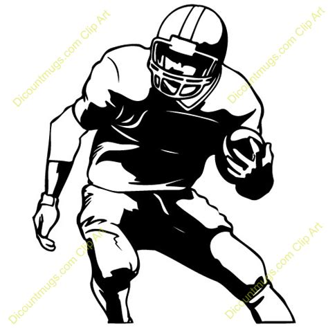 football player clip american football player clipart clipart panda free