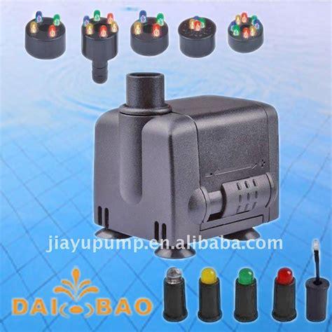 teichpumpe mit beleuchtung modell db 337l brunnen und teichpumpe mit led