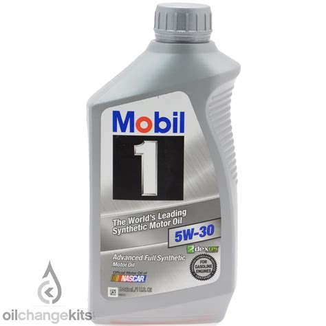mobil 5w30 mobil 1 94001 synthetic 5w 30 motor 1 quart pack of 6