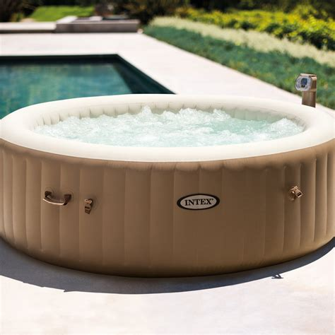 portable spa jets for bathtubs intex inflatable pure spa 6 person portable heated bubble