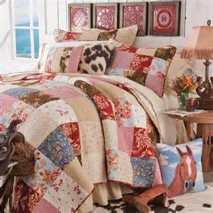 western girls bedding lonesome valley quilt bedding collection