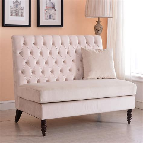settee bench cushion 20 collection of bench cushion sofas sofa ideas