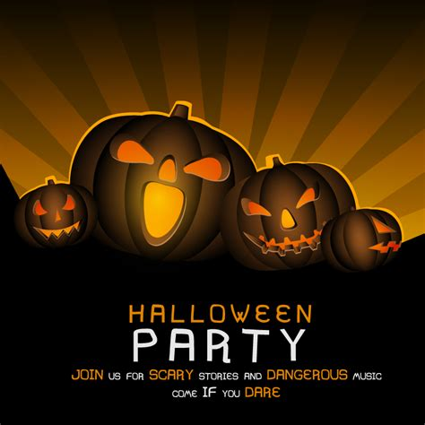 halloween images party halloween party colorful background vector free vector