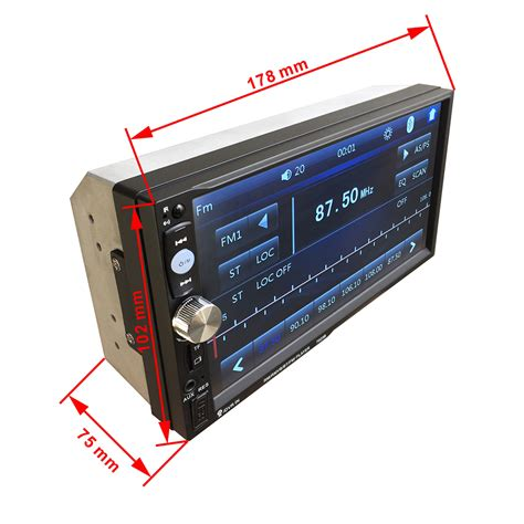 format audio mp5 7023b 7 car mp5 player bluetooth stereo audio touch