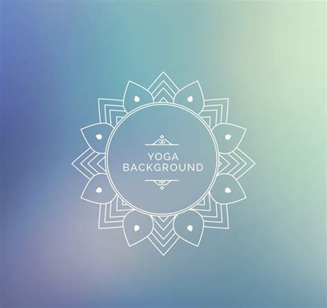 yoga pattern vector yoga blurred background pattern vector graphics my free