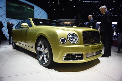 Geneva 2016 New Bentley Mulsanne Gtspirit